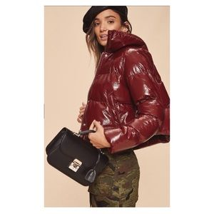 LPA puffer jacket 600 in cherry